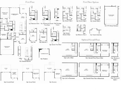 Castle rock model in the grand dominion subdivision in for Castle rock floor plans
