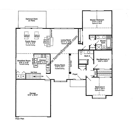 Chadwick model in the hunters ridge subdivision in for Chadwick house plan