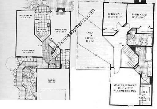 Homes By Marco Floor Plans: Coventry Model In The Ashton Park Subdivision In