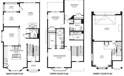 Homes By Marco Floor Plans: Danbury Model In The Brighton Mews Subdivision In Park
