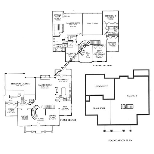 Darramoor model in the chapel crossing subdivision in for Small chapel floor plans