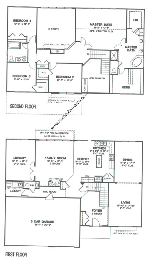 Devonshire model in the century trace subdivision in for Devonshire floor plan