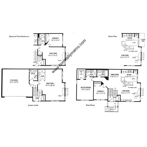 Easton model in the greystone subdivision in gurnee for Greystone homes floor plans
