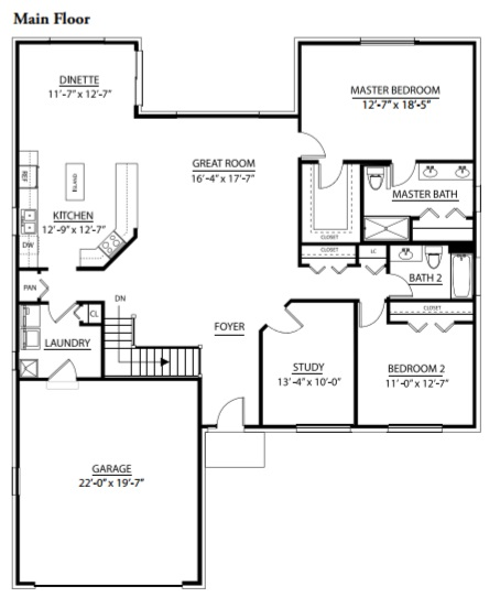 Edgebrook Model In The Shannon Estates Subdivision In New