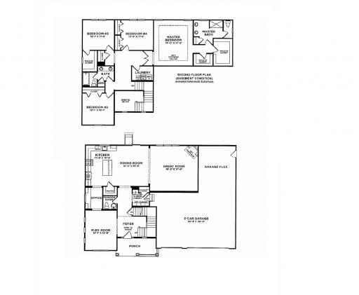 Homes By Marco Floor Plans: Fairfield Model In The Prairie Glen Subdivision In Sugar