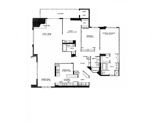 Homes By Marco Floor Plans: H Model In The Mission Hills Subdivision In Northbrook