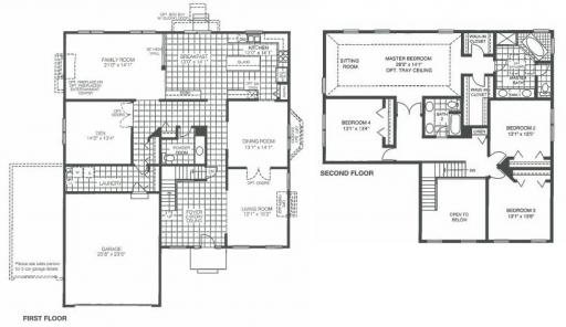 Homes By Marco Floor Plans: Lancaster Model In The Lakewood Grove Subdivision In Round