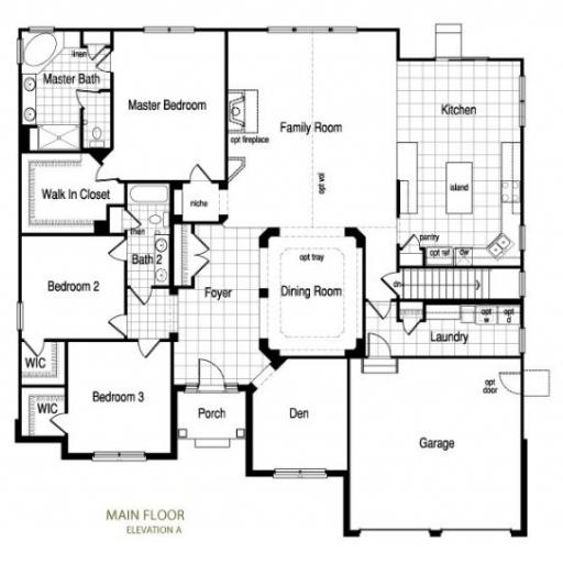 Marquis model in the reserve of st charles subdivision in for 150 charles street floor plans
