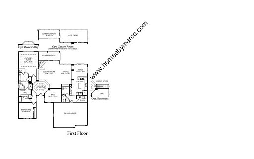 Homes By Marco Floor Plans: Monterey Model In The Edgewater By Del Webb Subdivision In