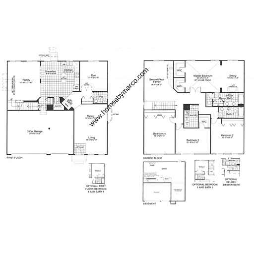 Newcastle Model In The Lakewood Grove Subdivision In Round