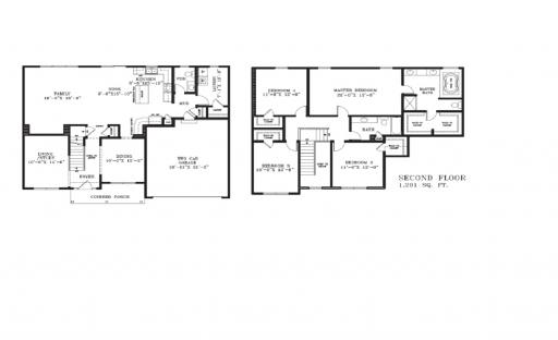 Homes By Marco Floor Plans: Parker Model In The Mill Creek Subdivision In Geneva