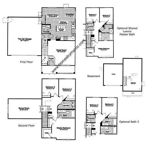 221 Model In The Madrona Village Subdivision In Round Lake