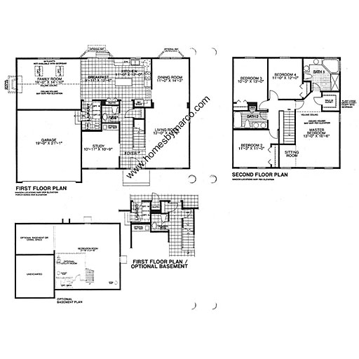 Sheffield model in the college trail subdivision in for Sheffield floor plan