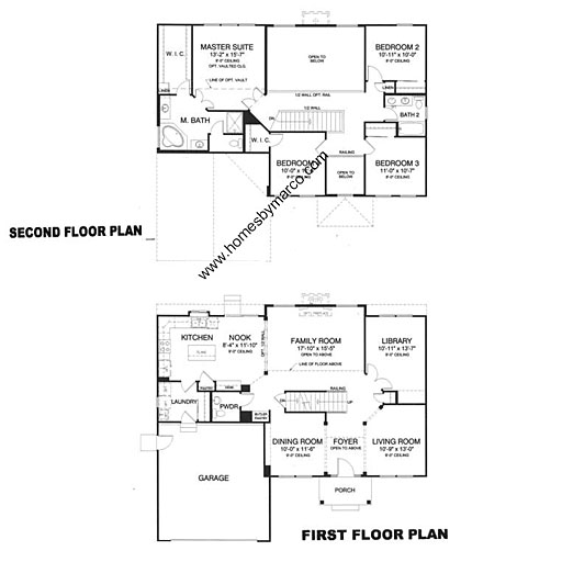 Sterling model in the manchester lakes estates subdivision for Sterling plan