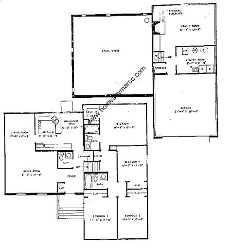 Stratford model in the deerpath subdivision in vernon for Stratford homes floor plans