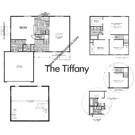 Tiffany model in the astor place subdivision in buffalo Place builders floor plans