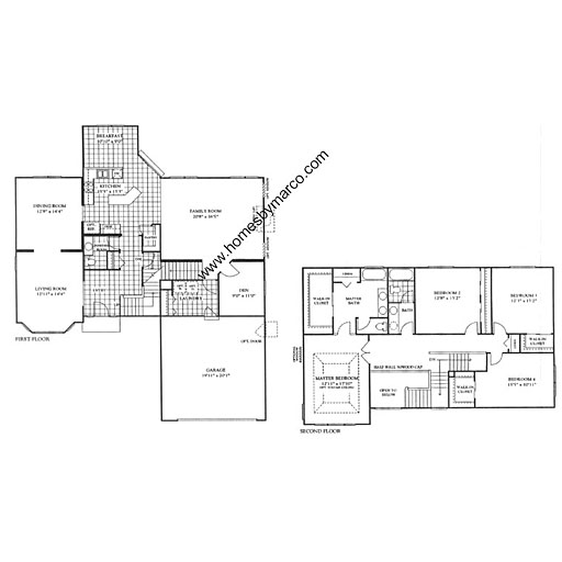 Arbor Homes Floor Plans: Willow Model In The Arbor Gate Subdivision In Oswego