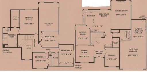 Windemere model in the stonehaven subdivision in aurora for Windemere homes floor plans