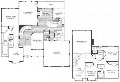 Homes By Marco Floor Plans: Wyndham Model In The Merit Club Subdivision In