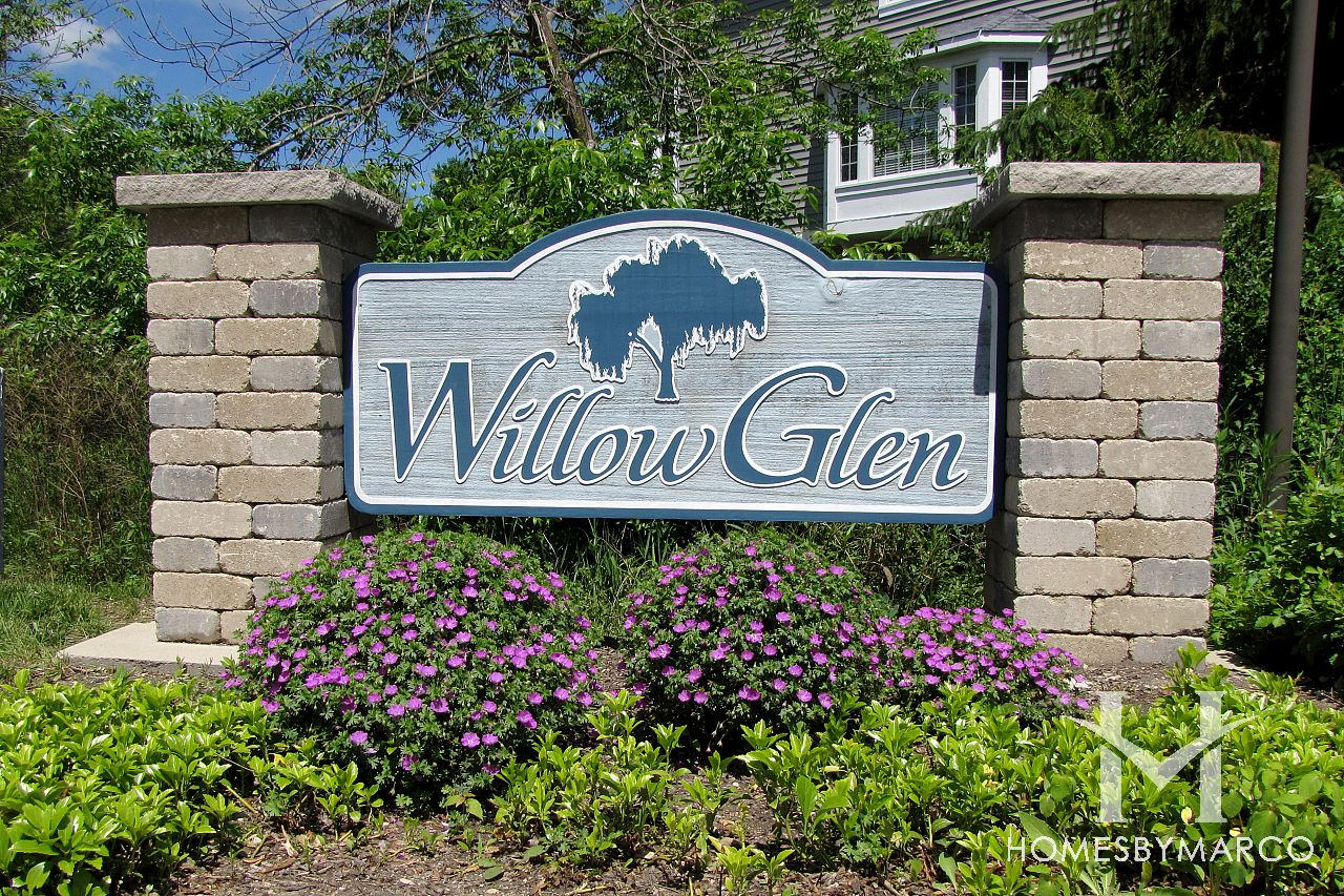 Willow Glen Subdivision In Palatine, Illinois, Homes For