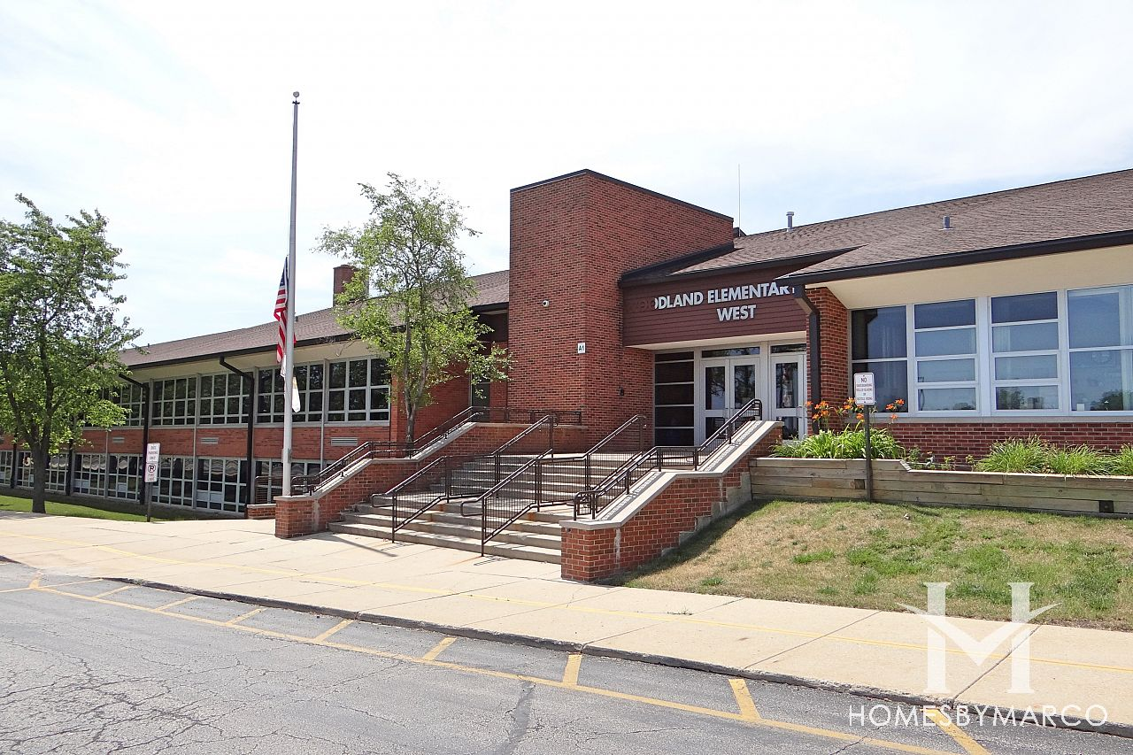 Photos of Woodland Elementary School, Gurnee - Homes by Marco