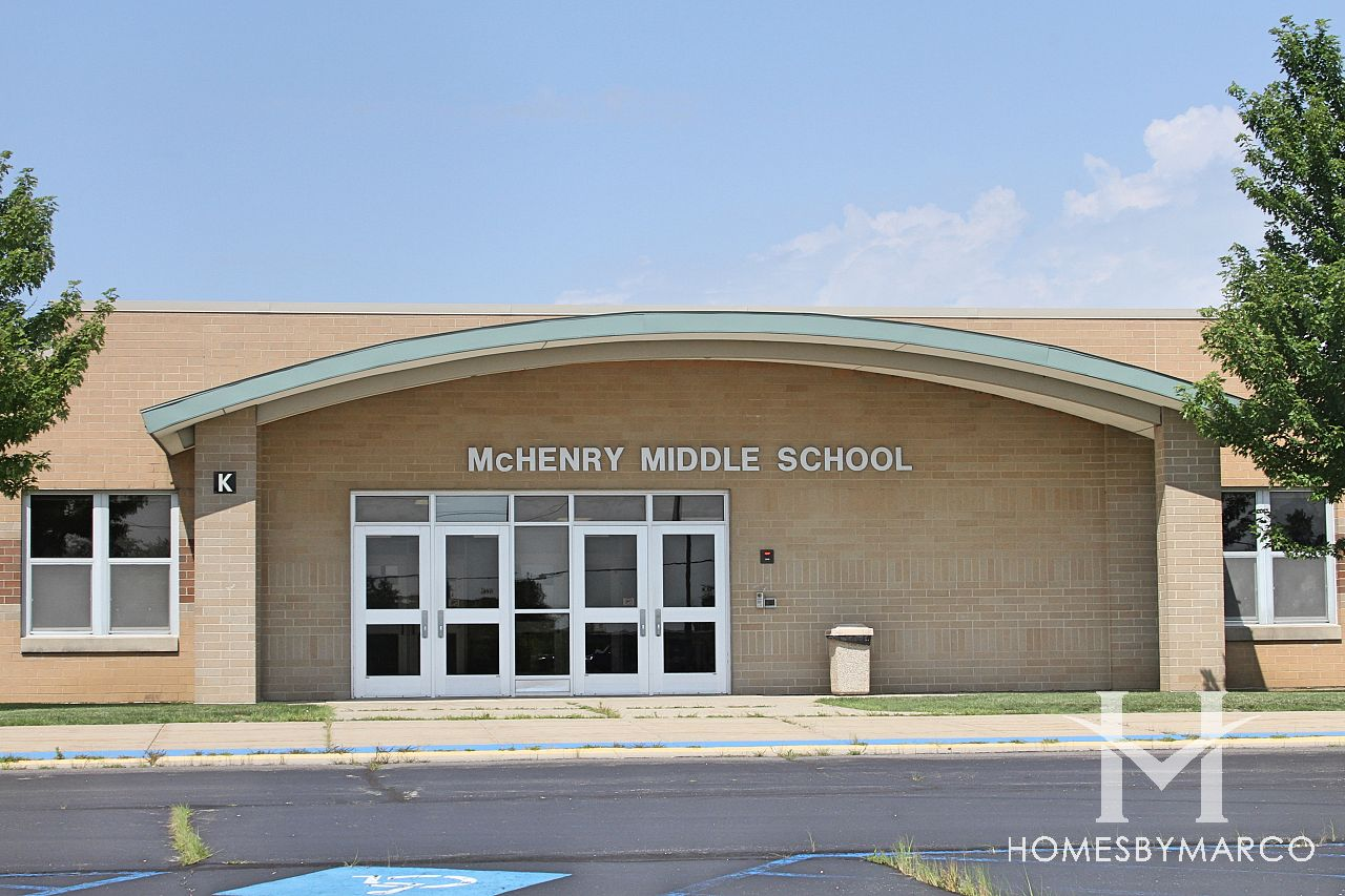 McHenry Middle School in McHenry, IL, Homes For Sale ...