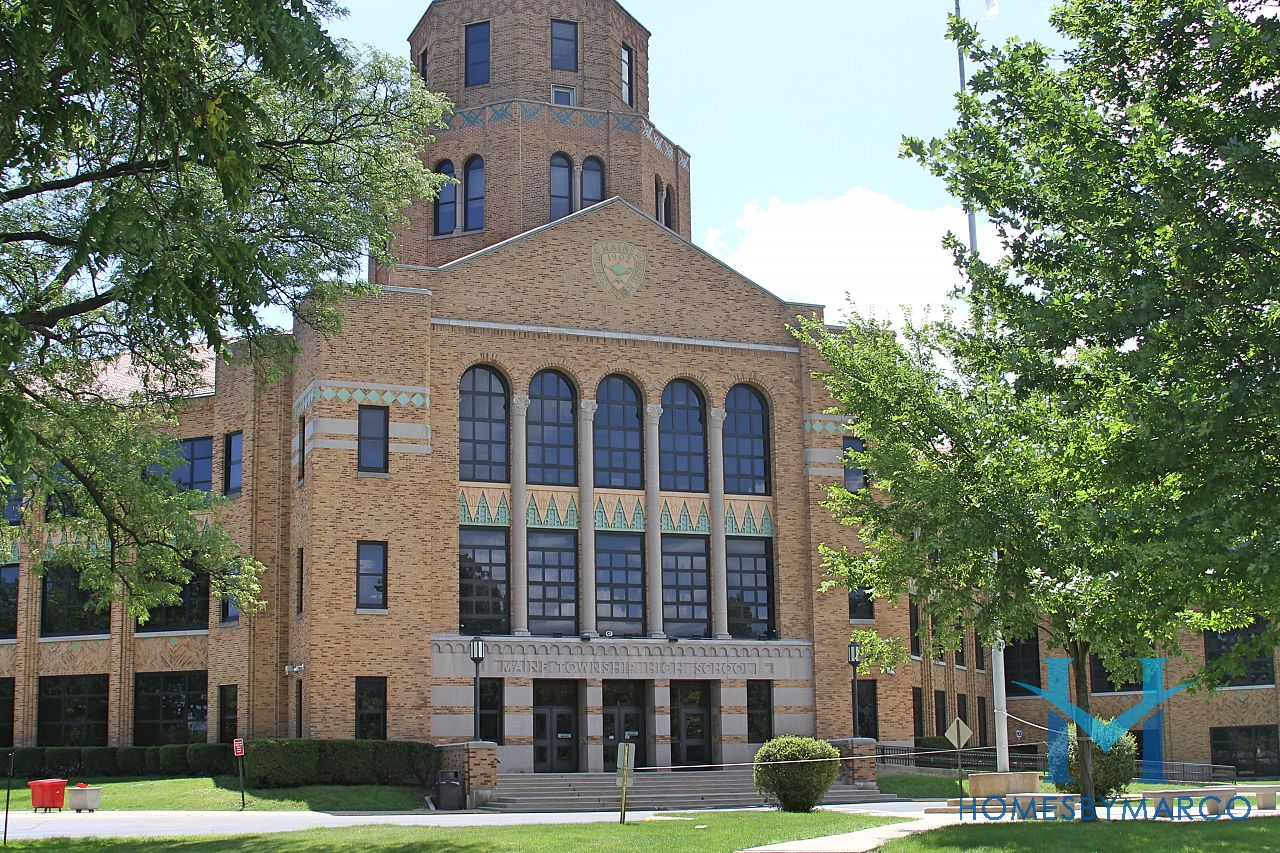 Maine east high school in park ridge il homes for sale for Park ridge