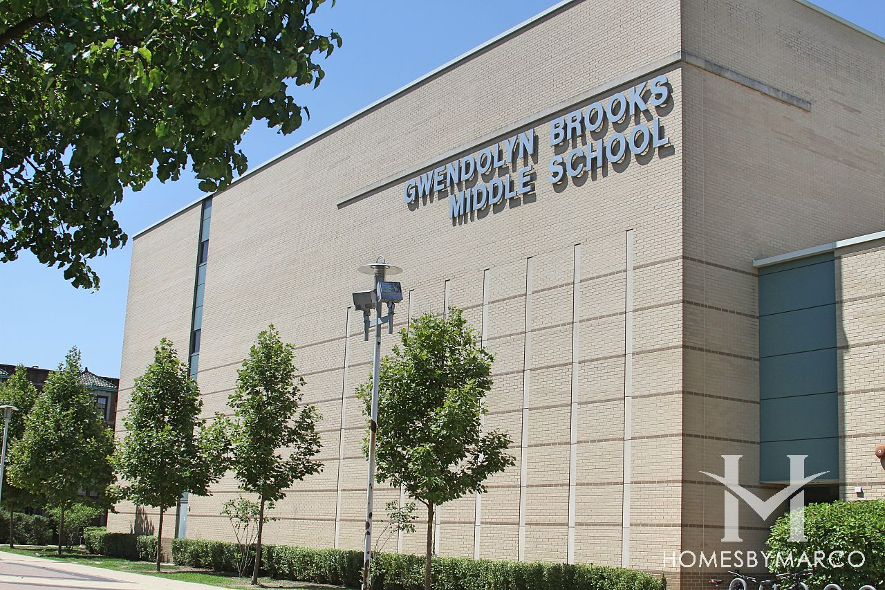 Gwendolyn Brooks Middle School in Oak Park, IL, Homes For ...