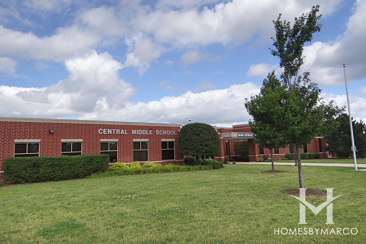 Central Middle School in Tinley Park, IL, Homes For Sale ...