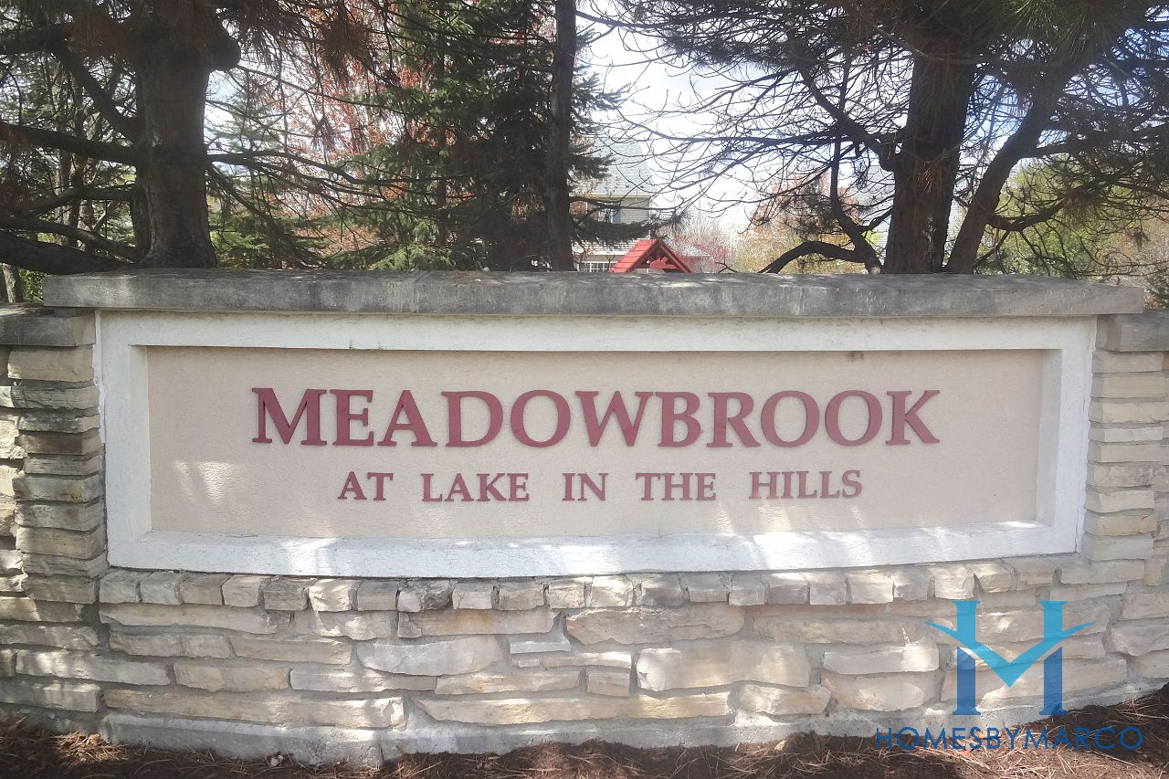 Meadowbrook Subdivision In Lake In The Hills Illinois