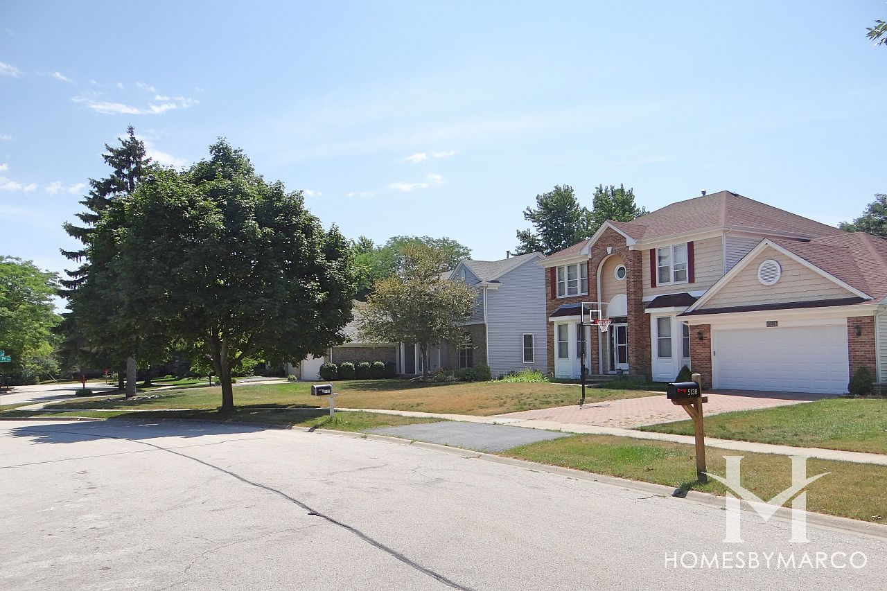 Spruce Pointe Subdivision In Gurnee Illinois Homes For