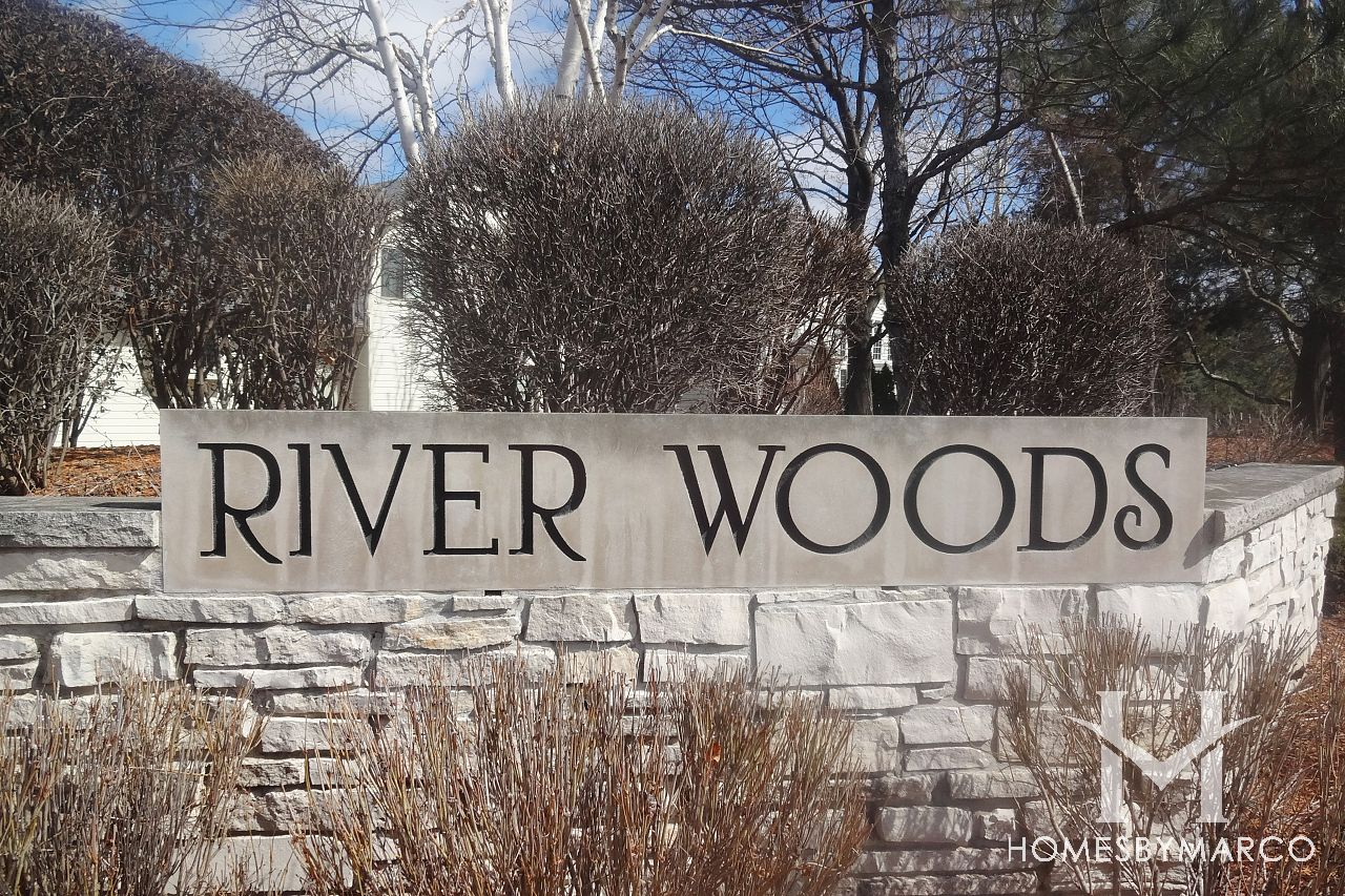 Riverwoods subdivision in Bolingbrook, Illinois - Homes ...  River