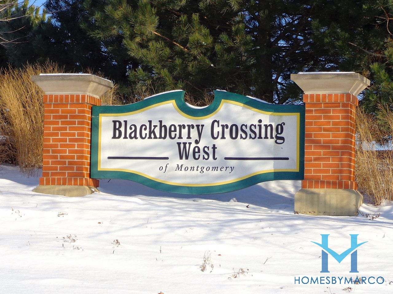Blackberry Crossing West Subdivision In Montgomery