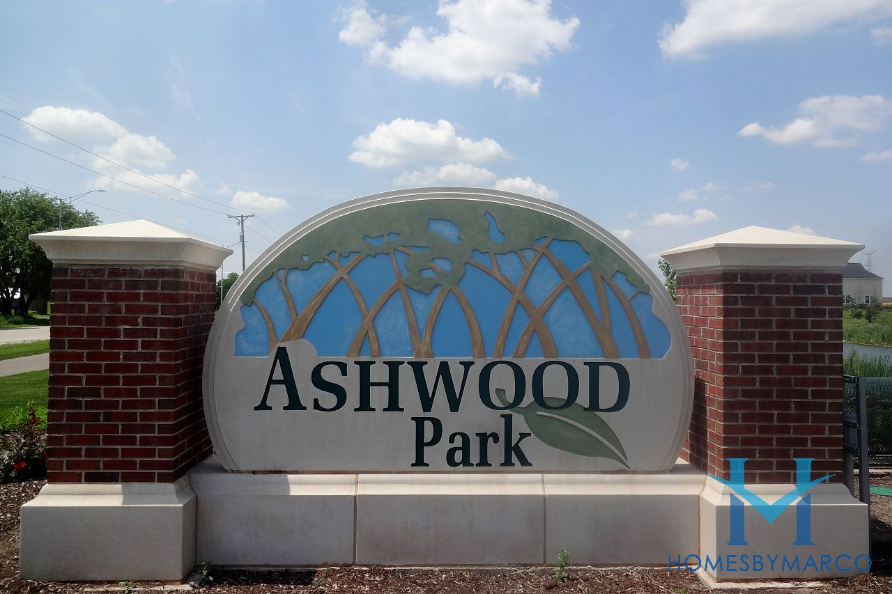 Ashwood park subdivision in naperville illinois homes for Ashwood homes