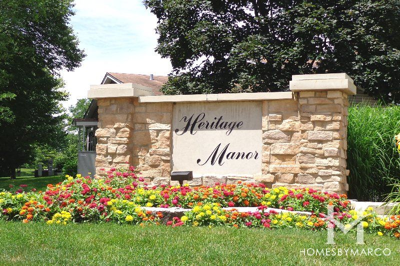 Heritage Manor Subdivision In Palatine Illinois Homes