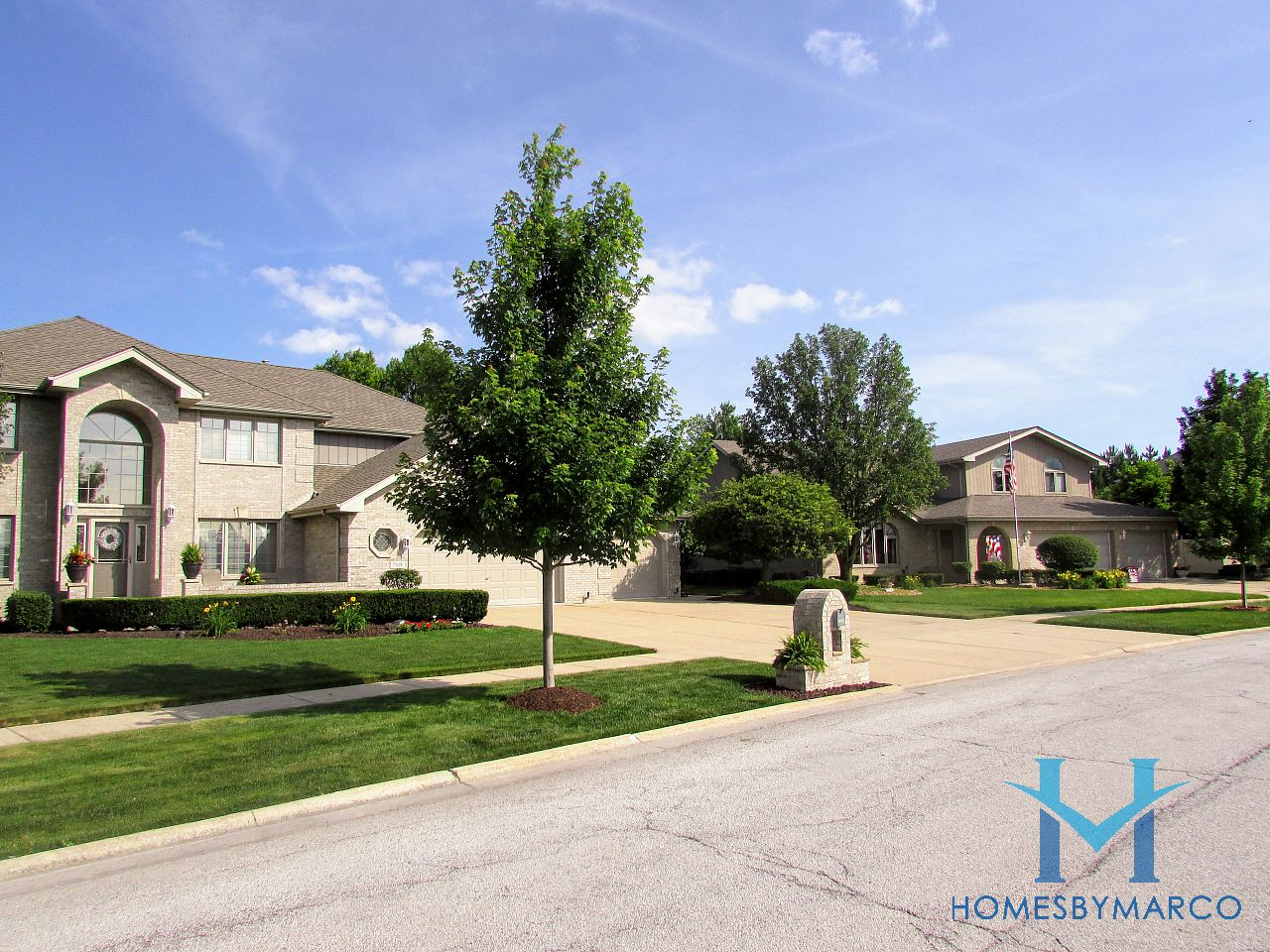 Bristol Park Subdivision In Tinley Park Illinois Homes