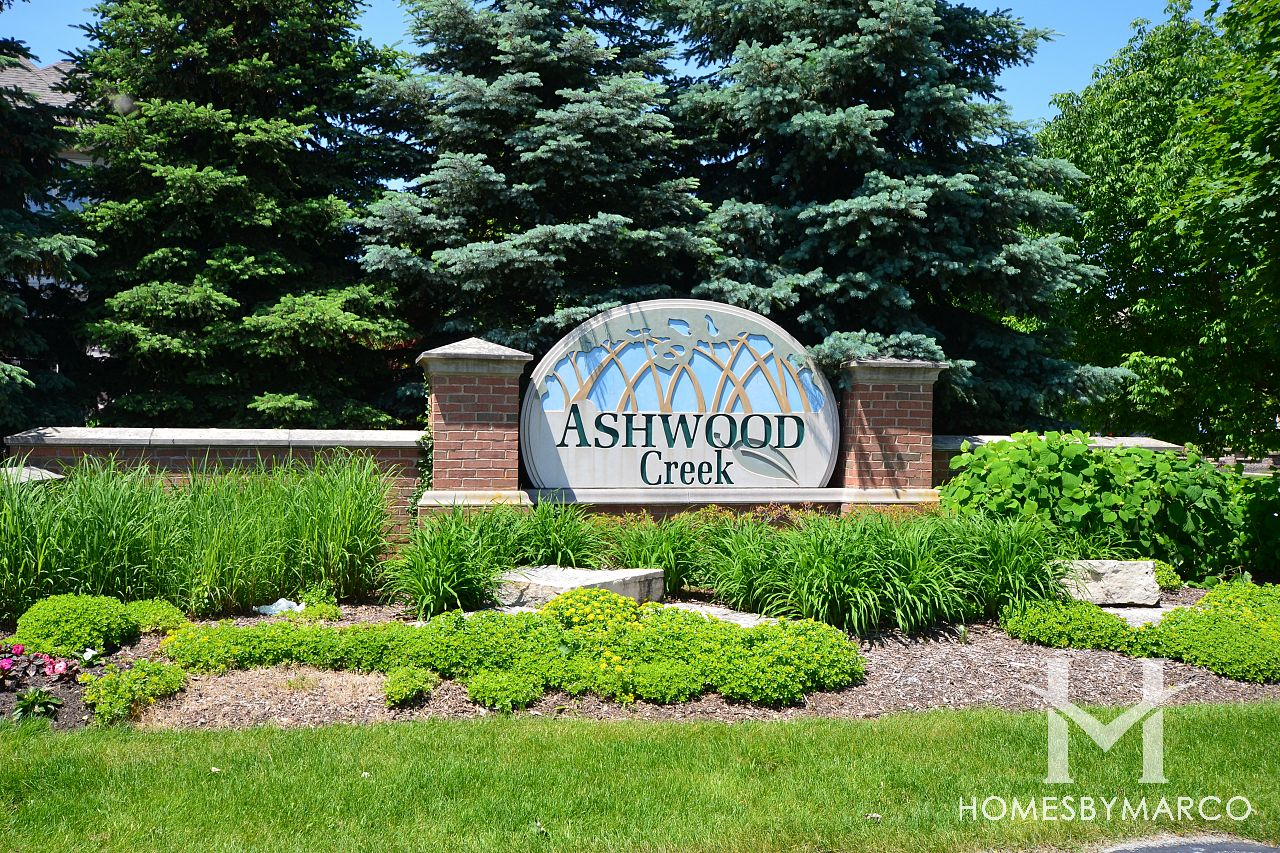 Ashwood creek subdivision in naperville illinois homes for Ashwood homes