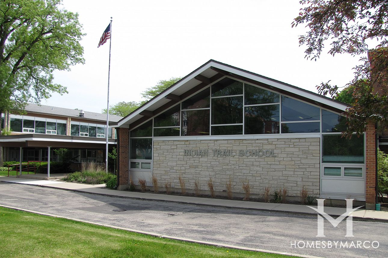 Indian Trail Elementary School In Highland Park IL Homes