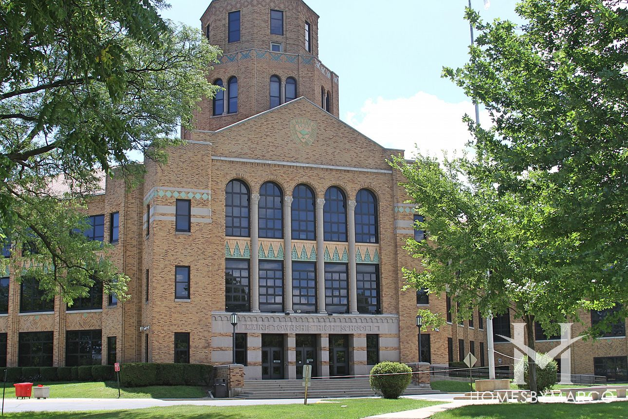 Maine East High School In Park Ridge IL Homes For Sale