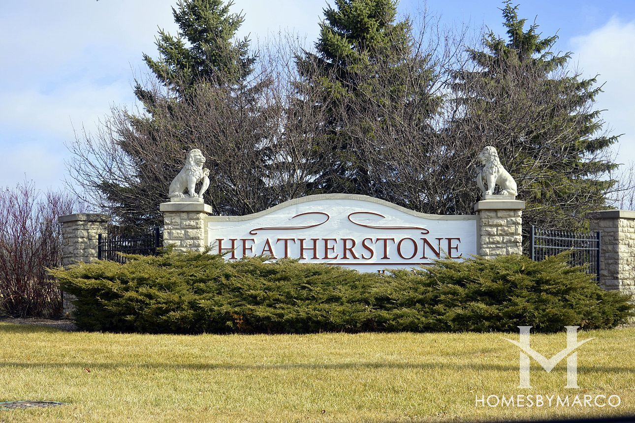 Cambridge At Heatherstone Subdivision In Beach Park Illinois Homes For Sale
