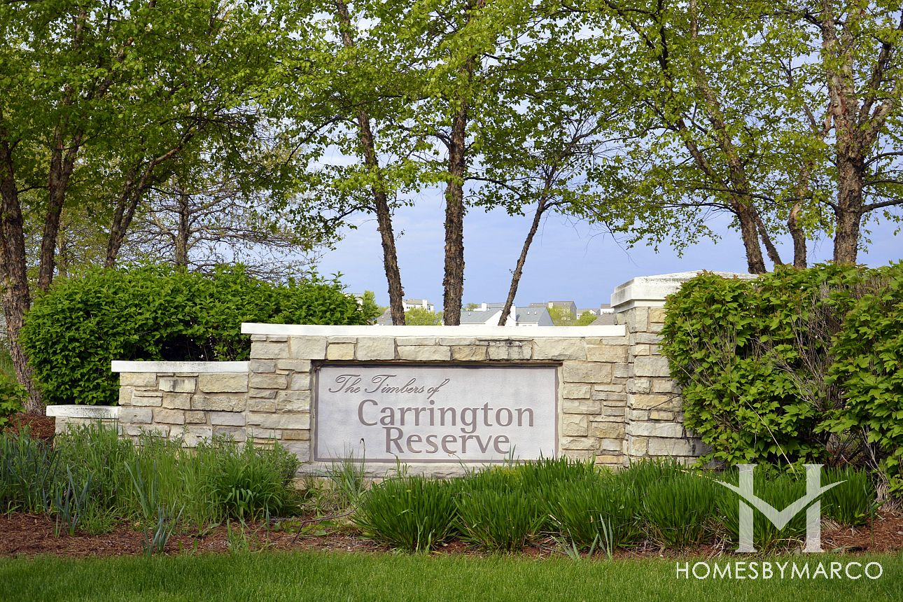 carrington reserve subdivision in west dundee illinois homes for