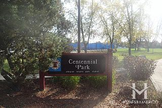 Centennial Park in Arlington Heights