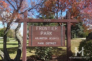 Frontier Park in Arlington Heights