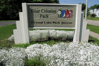 Four Colonies Park in Crystal Lake