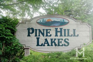 Pine Hill Lakes subdivision