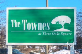 The Townes at Three Oaks subdivision