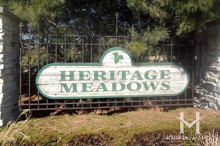 Heritage Meadows subdivision