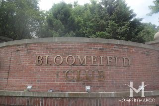 Bloomfield Club subdivision