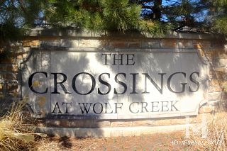 Crossings at Wolf Creek subdivision