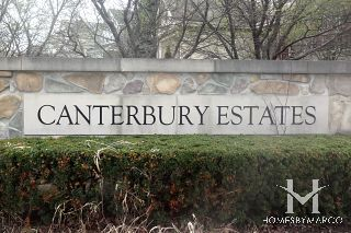 Canterbury Estates subdivision